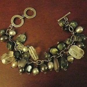 Silpada cha cha dangly charm bracelet